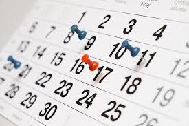 Kalendár odvodových povinností na rok 2016